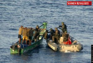 Turks capture Somali pirates