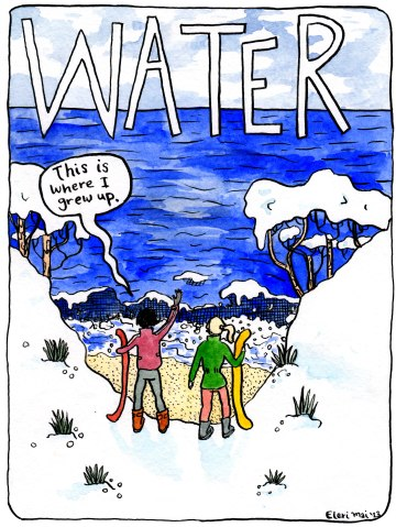 Water - a dream comic
