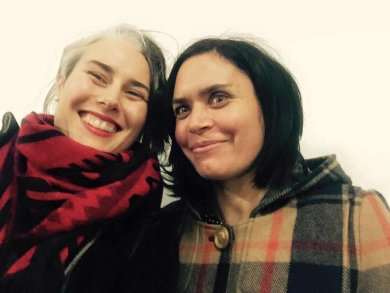 Eleri and Mandy
